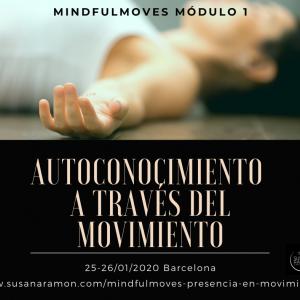 Mindfulmoves – Presencia en Movimiento – Módulo 1 Autoconocimiento a través del movimiento: 140€