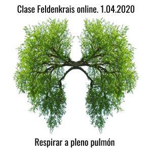 Clase Feldenkrais online 1.04.2020. Respirar a pleno pulmón