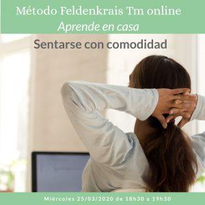 Ciclo Feldenkrais online Abril 2020. Cuida tu cuerpo y tu mente. Embodiment y desarrollo corporal para la autorregulación emocional